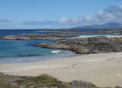 Sanna Bay on Ardnamurchan which is just a short ferry ride from Mull. Copyright Karin Haerdtle @ Our Scotland