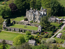 Torosay Castle is up for sale after being in the same family since 1865. Image copyright Savills.