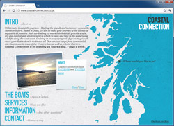 Coastal Connections is based out of Oban and runs private charters to Mull and other parts of the Inner Hebrides.