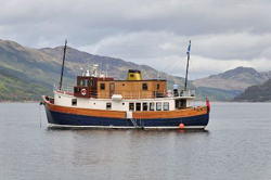 If you're planning a holiday to the Isle of Mull you could spend some time cruising around the coastline courtesy of the Majestic Line out of Oban.