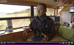 RSPB Warden Dave Sexton on Springwatch Xmas Special